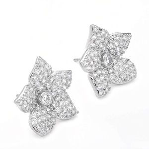 Kate Spade Blooming Pavé Crystal Earrings
